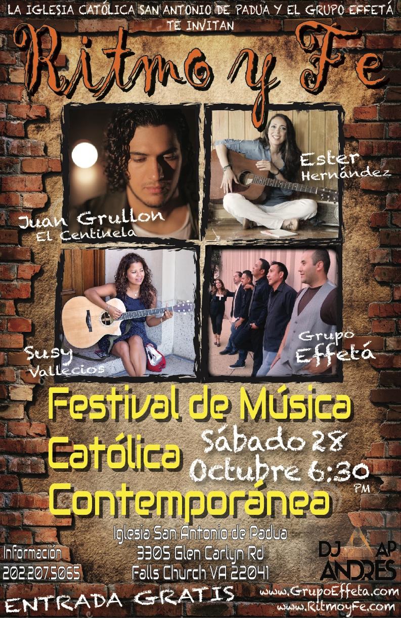 Poster Ritmo y Fe 09